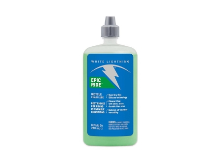 White Lightning Epic Ride Lube 240ml